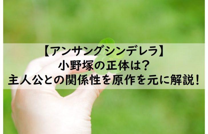 清原 翔 シンデレラ アンサング